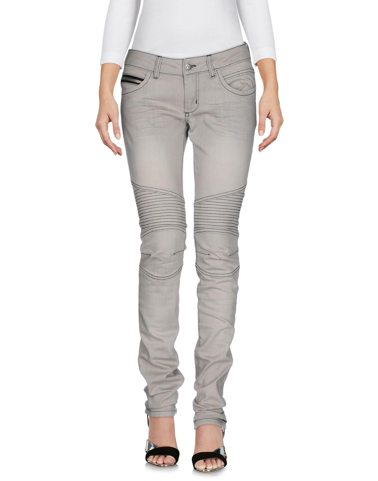 Фото POORICH Джинсовые брюки. Купить с доставкой