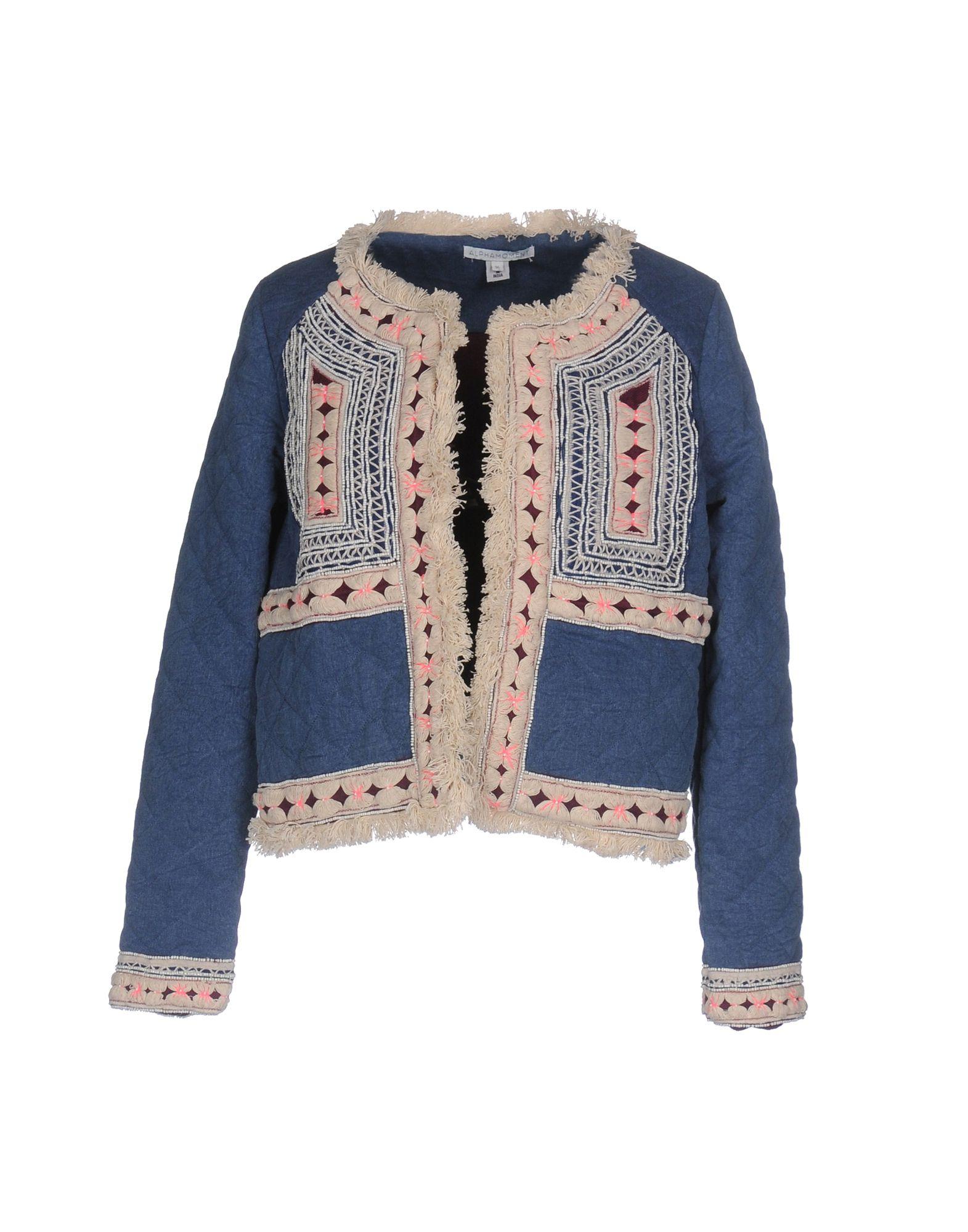 ALPHAMOMENT Джинсовая верхняя одежда детская верхняя одежда wellber