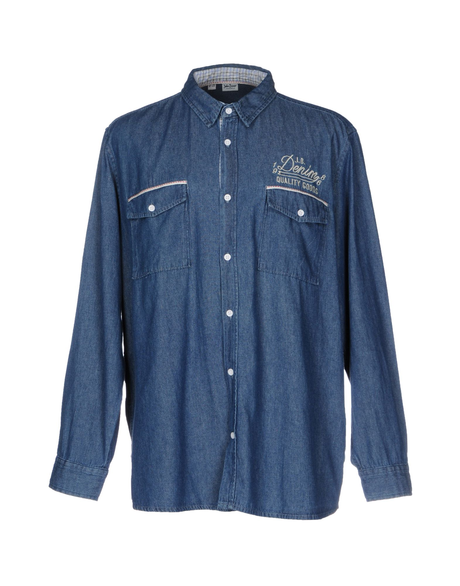 купить JOHN BANER JEANSWEAR Джинсовая рубашка по цене 3900 рублей