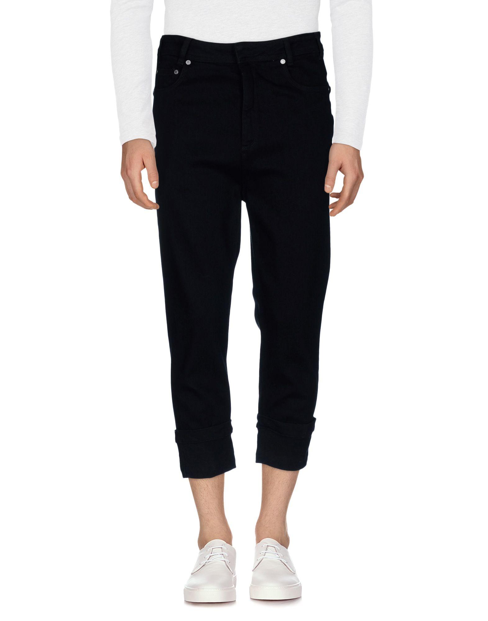 NEIL BARRETT Джинсовые брюки-капри цена 2017