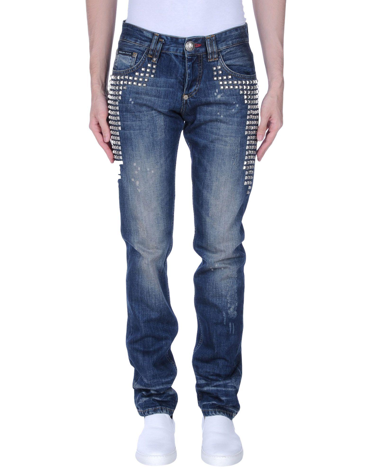PHILIPP PLEIN Джинсовые брюки футболка via montenapoleone philipp plein