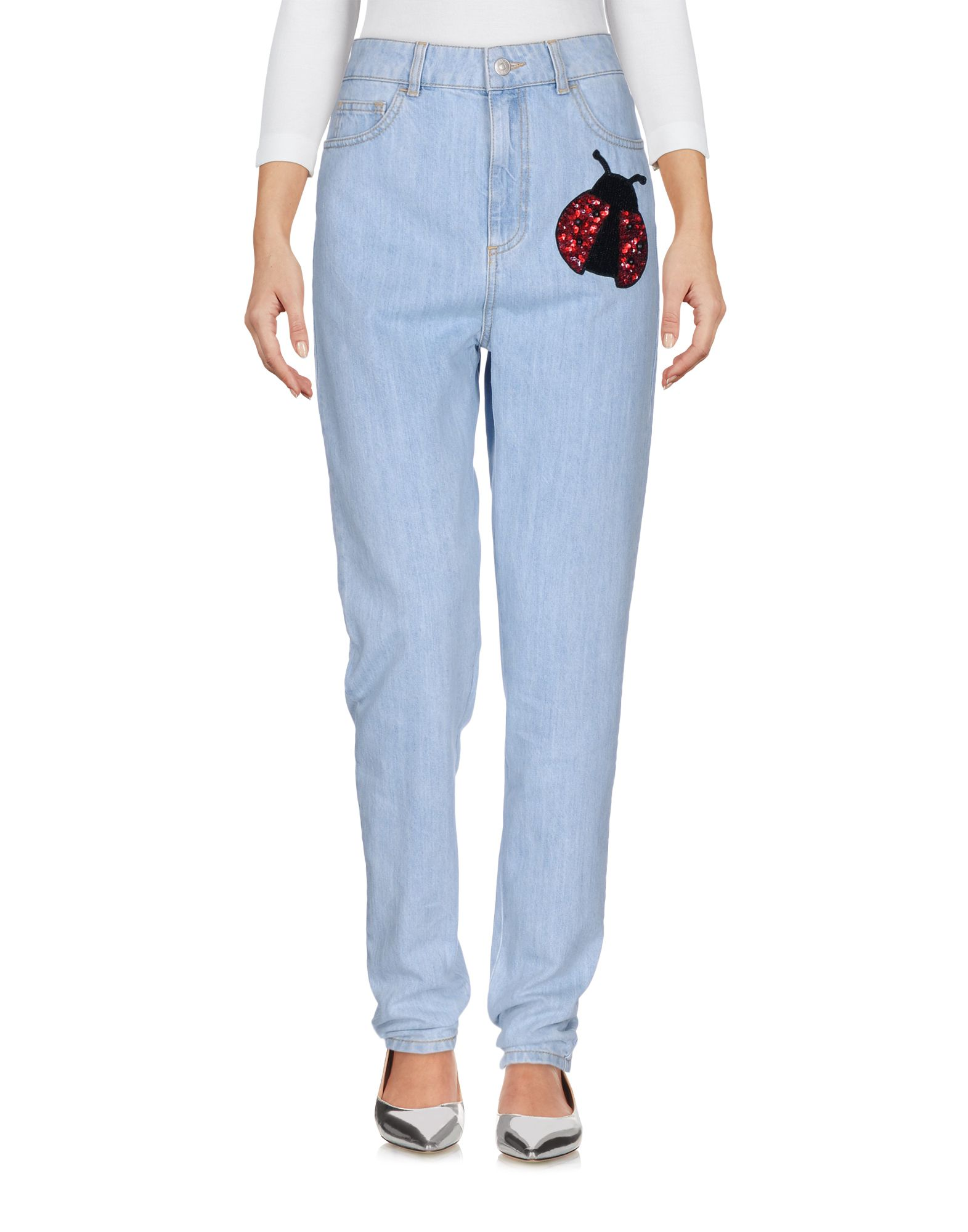 AU JOUR LE JOUR Джинсовые брюки au jour le jour джинсовые шорты