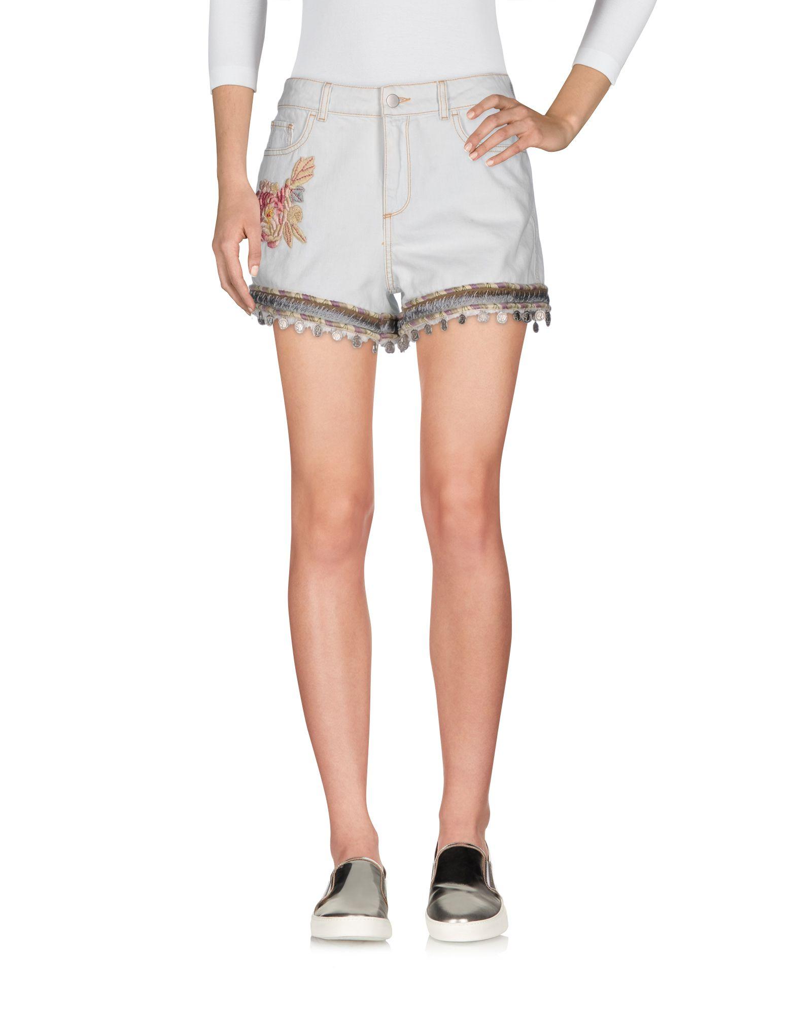 Фото - AMEN Джинсовые шорты please джинсовые шорты