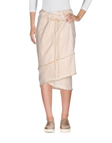 Фото - Джинсовая юбка от COLLECTION PRIVĒE? бежевого цвета