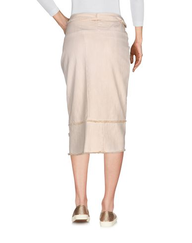 Фото 2 - Джинсовая юбка от COLLECTION PRIVĒE? бежевого цвета