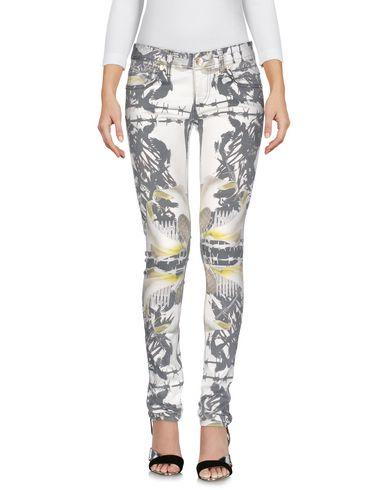 LES ÉCLAIRES Pantalon en jean femme