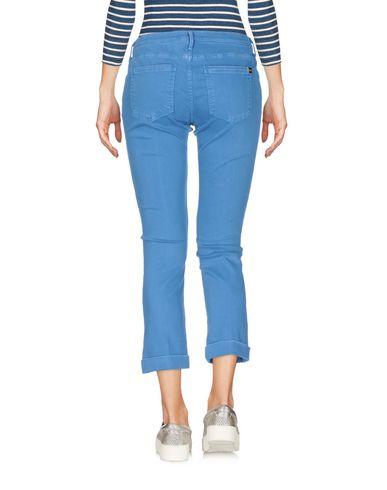 Фото 2 - Джинсовые брюки-капри от KAOS JEANS лазурного цвета