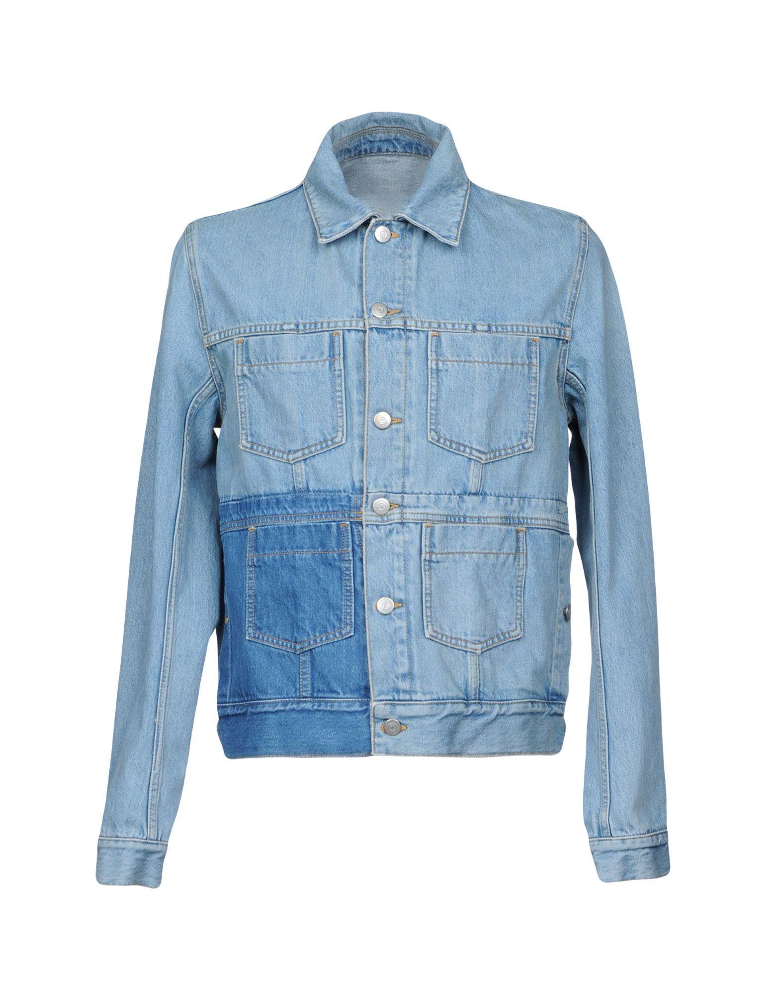 цена  MAISON MARGIELA Джинсовая верхняя одежда  онлайн в 2017 году