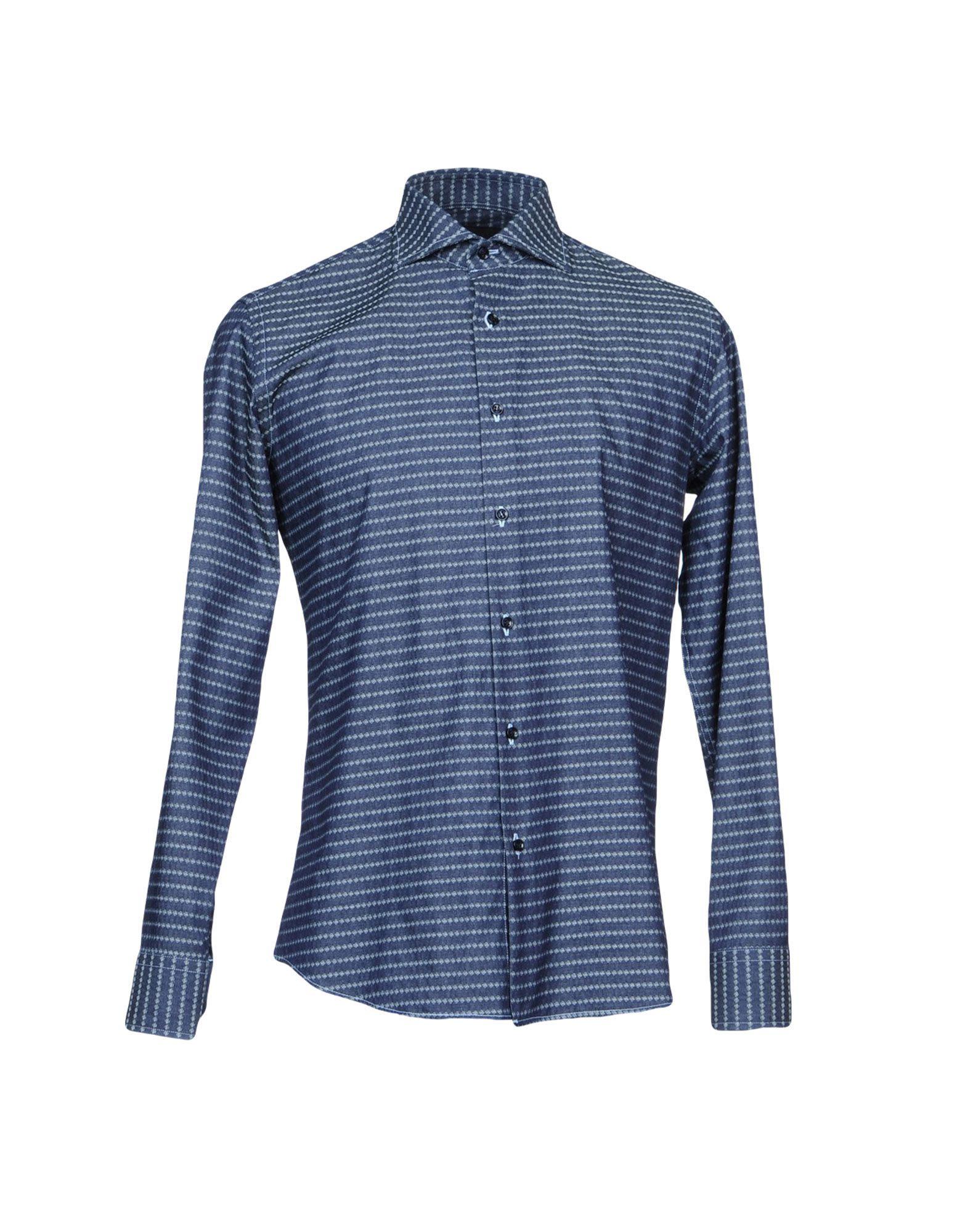 TRU TRUSSARDI Джинсовая рубашка tru trussardi джинсовая рубашка