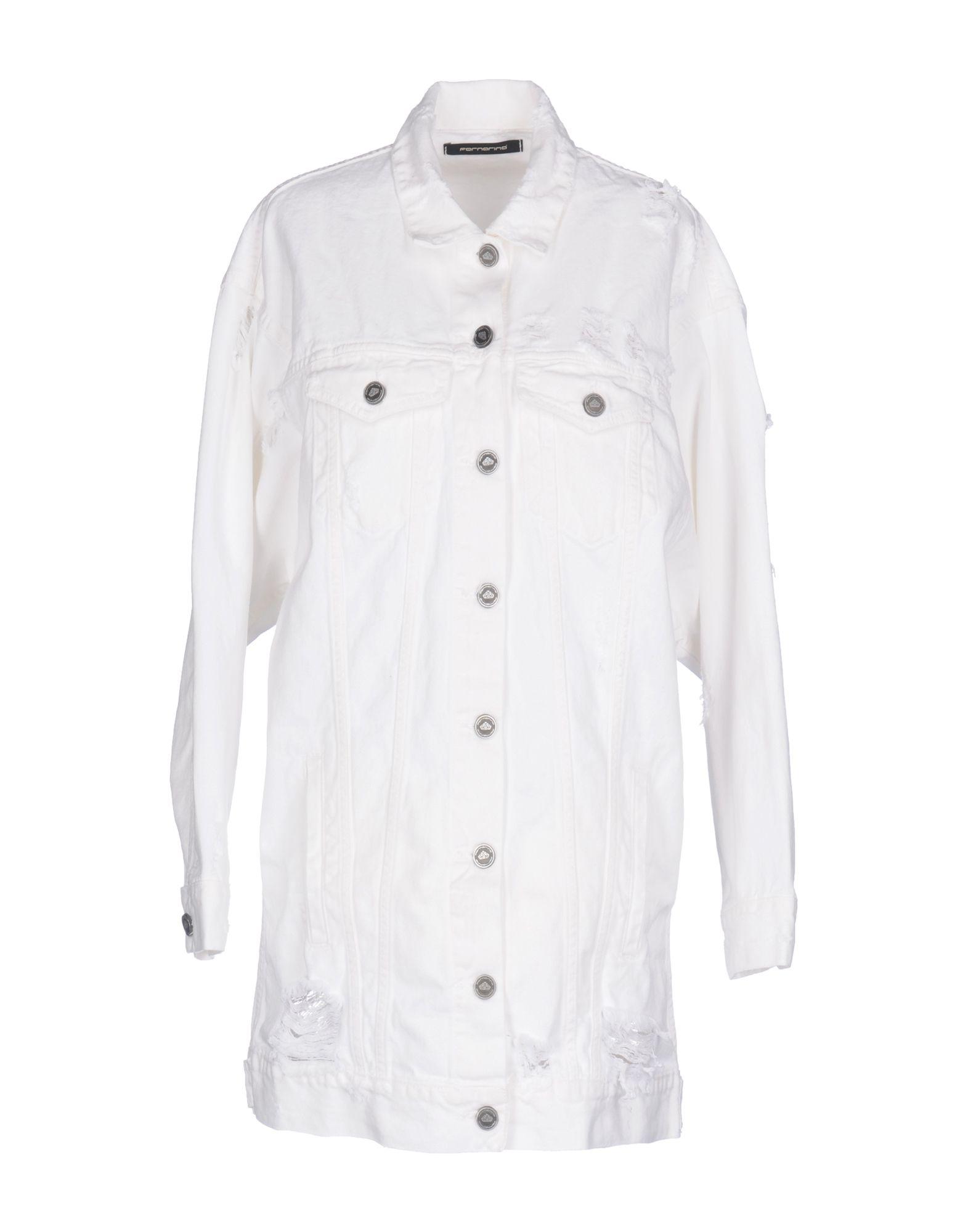 FORNARINA Джинсовая верхняя одежда верхняя одежда