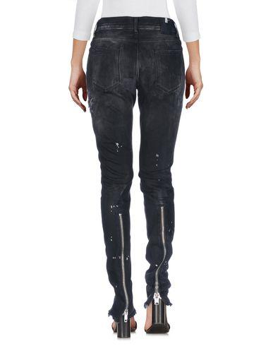 Фото 2 - Джинсовые брюки от ALYX черного цвета