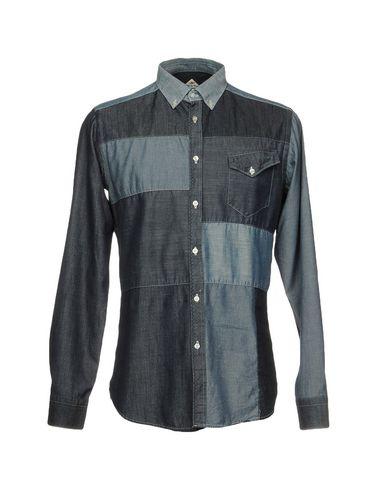 Фото - Джинсовая рубашка от LIBERTY ROSE синего цвета