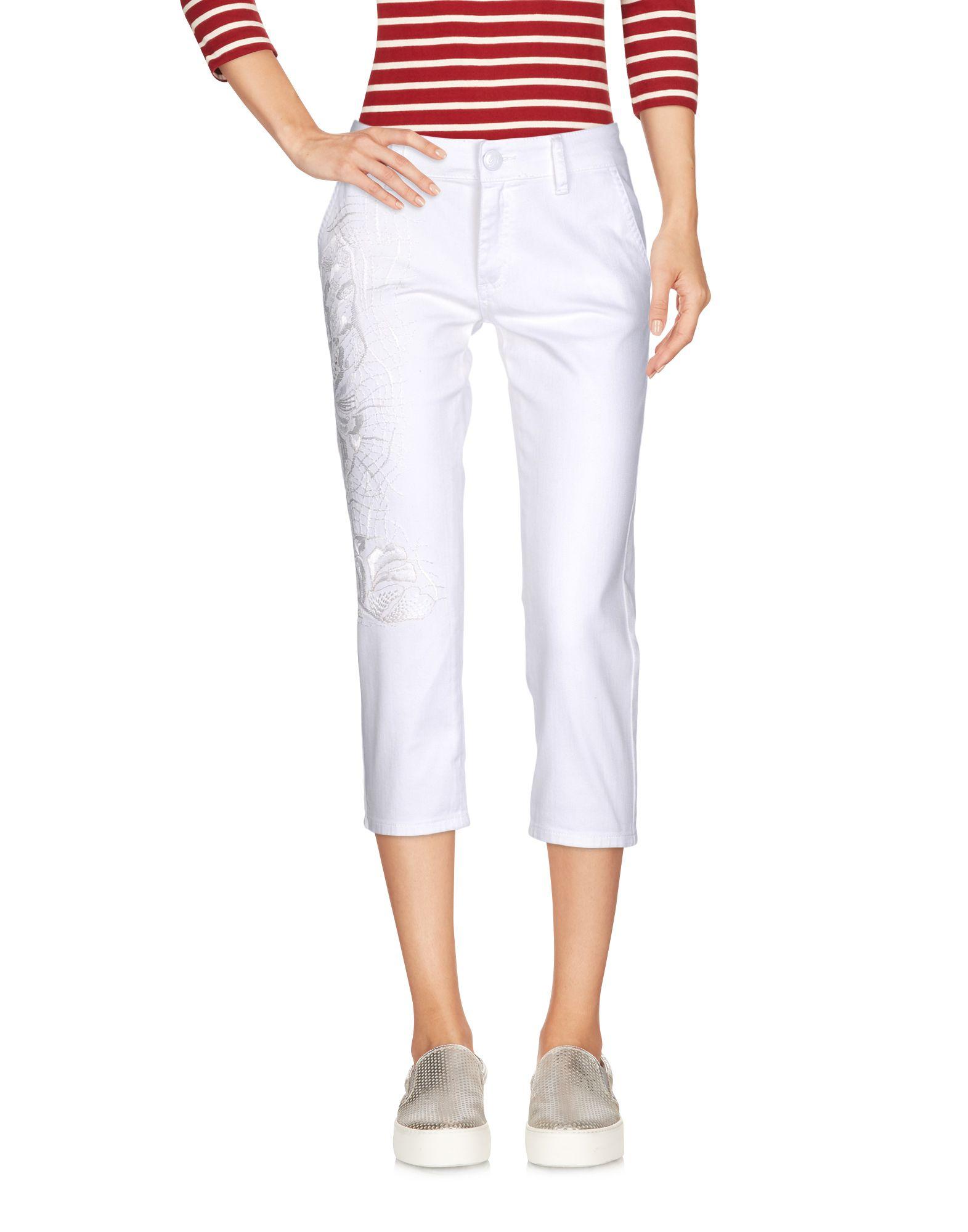 BLUMARINE Джинсовые брюки-капри