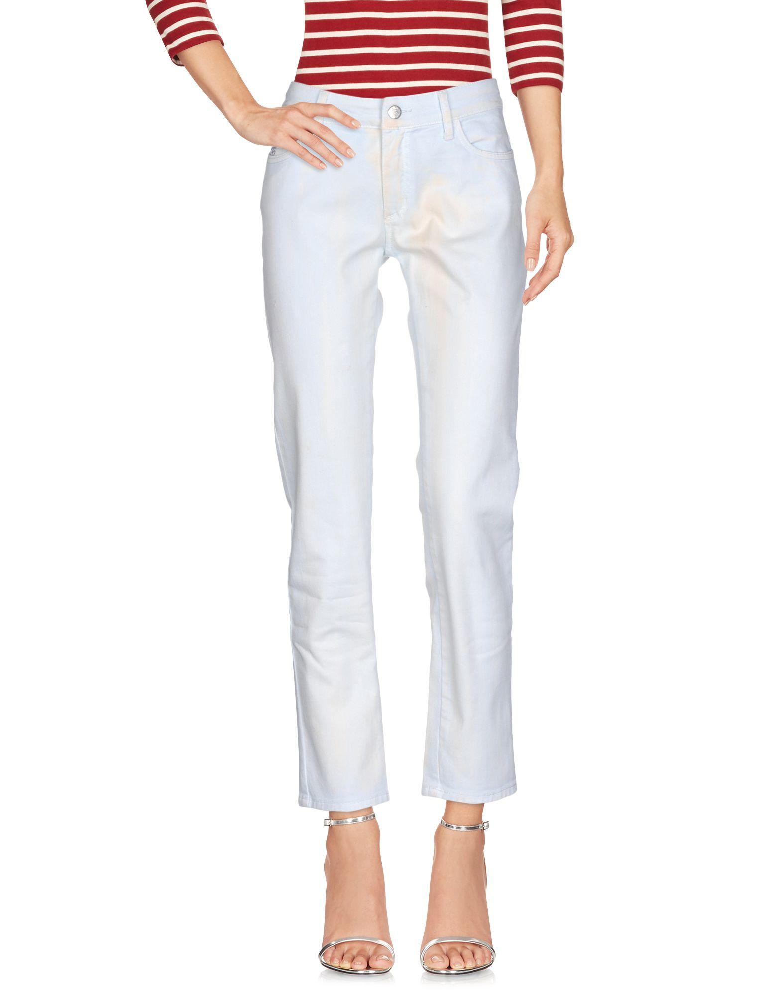 BLUMARINE Джинсовые брюки женские брюки лэйт светлый размер 56