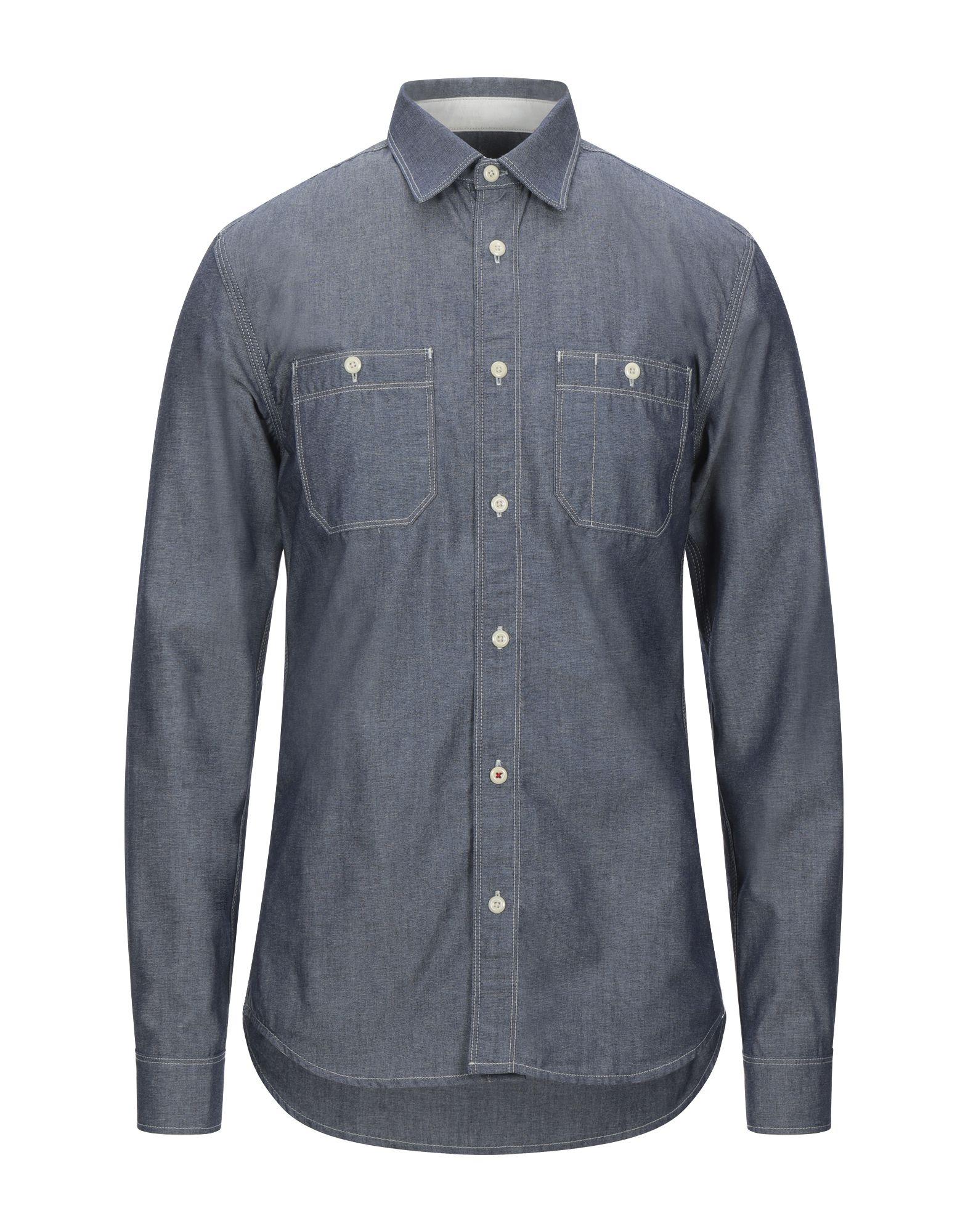 R.D.D. ROYAL DENIM DIVISION BY JACK & JONES Джинсовая рубашка division minuscula mexico