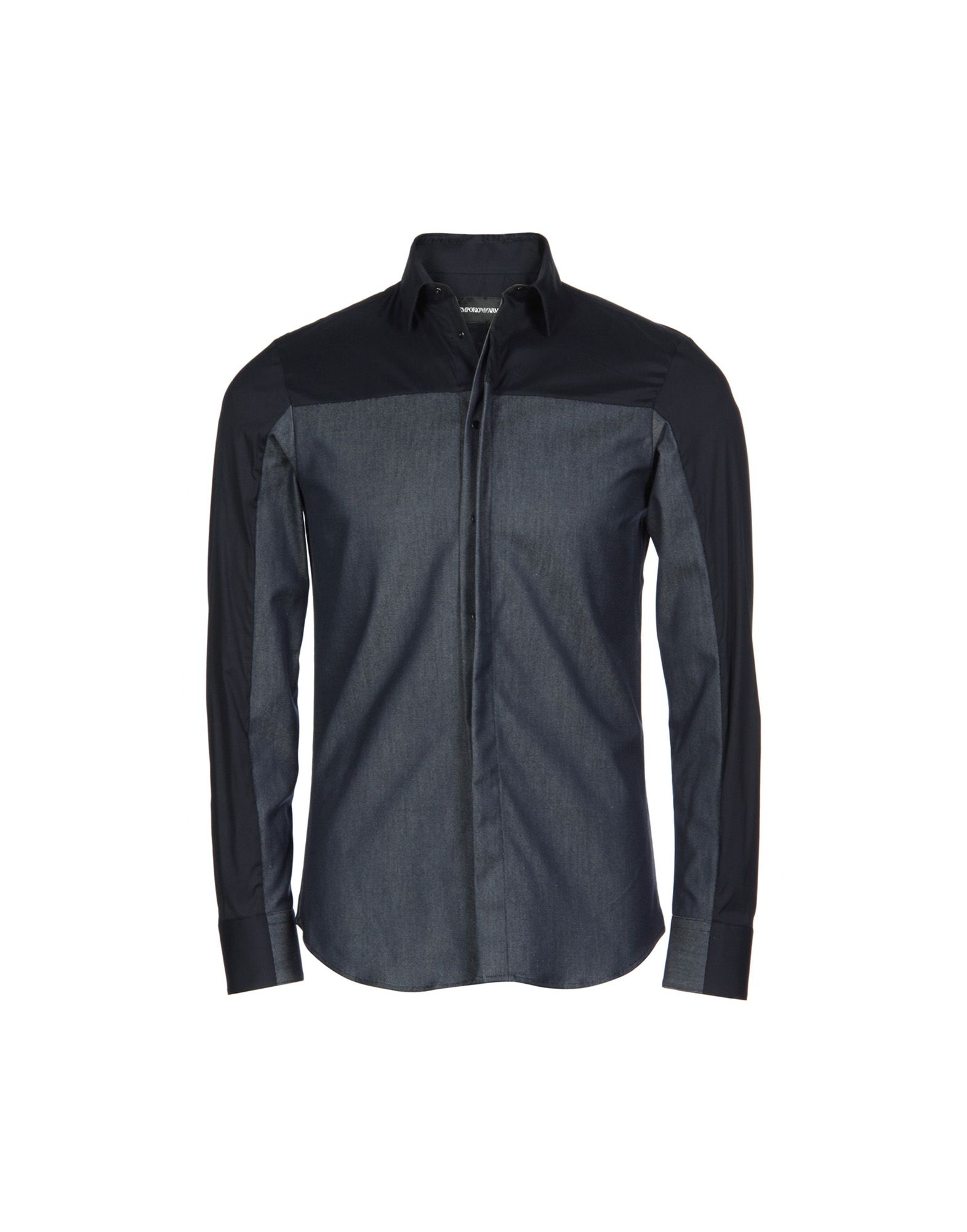 EMPORIO ARMANI Джинсовая рубашка