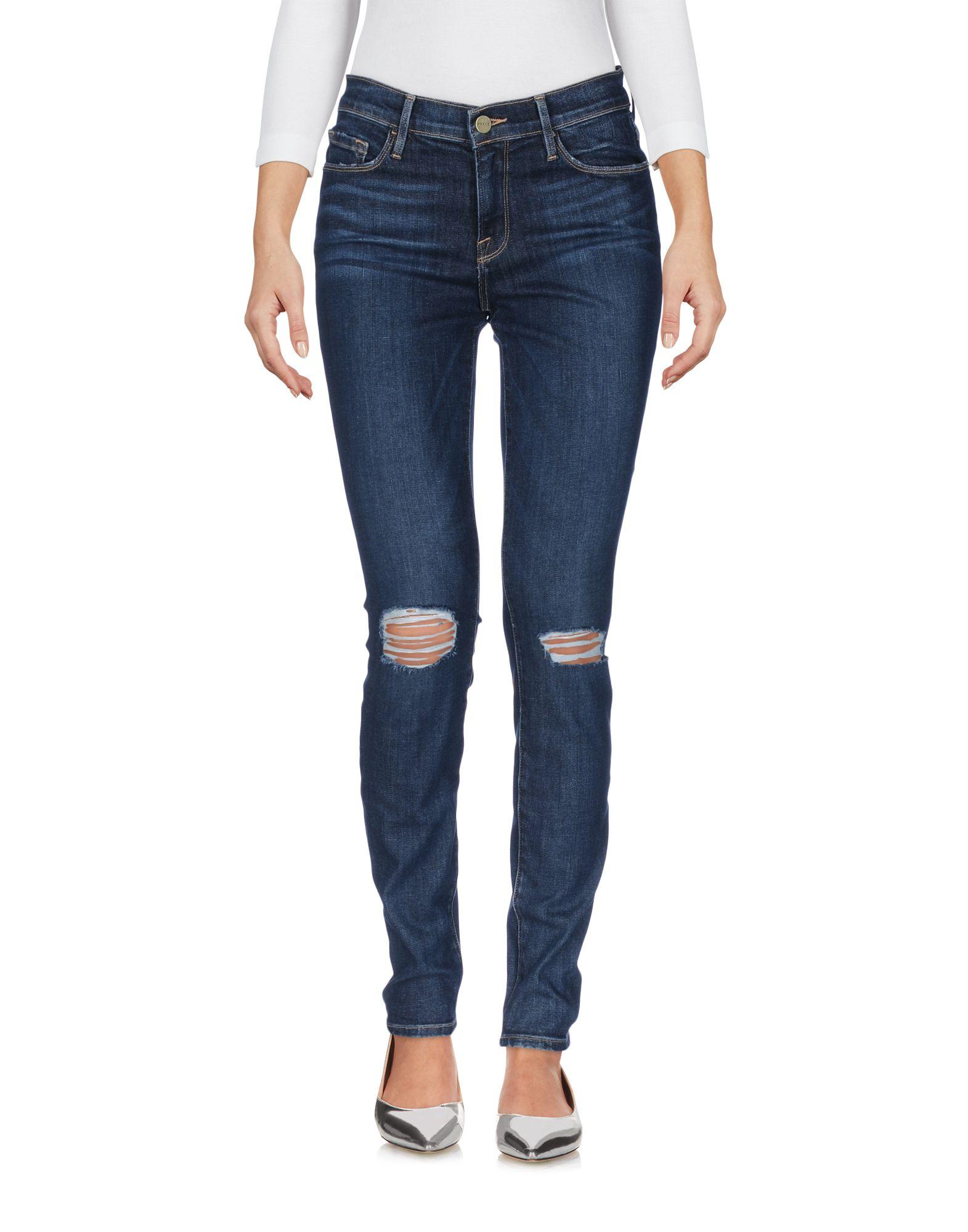 ФОТО frame Джинсовые брюки