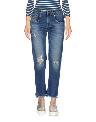 R13 Pantacourt en jean femme