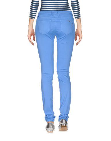 Фото 2 - Джинсовые брюки лазурного цвета
