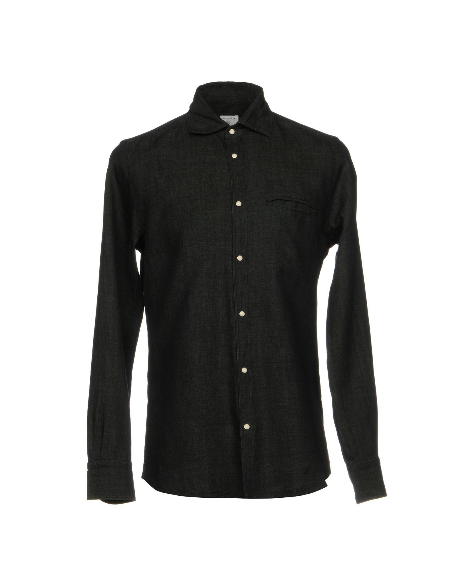 BORSA Джинсовая рубашка джинсовая рубашка quelle arizona 610860