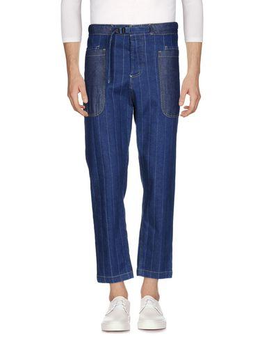 Фото - Джинсовые брюки от WHITE SAND 88 синего цвета