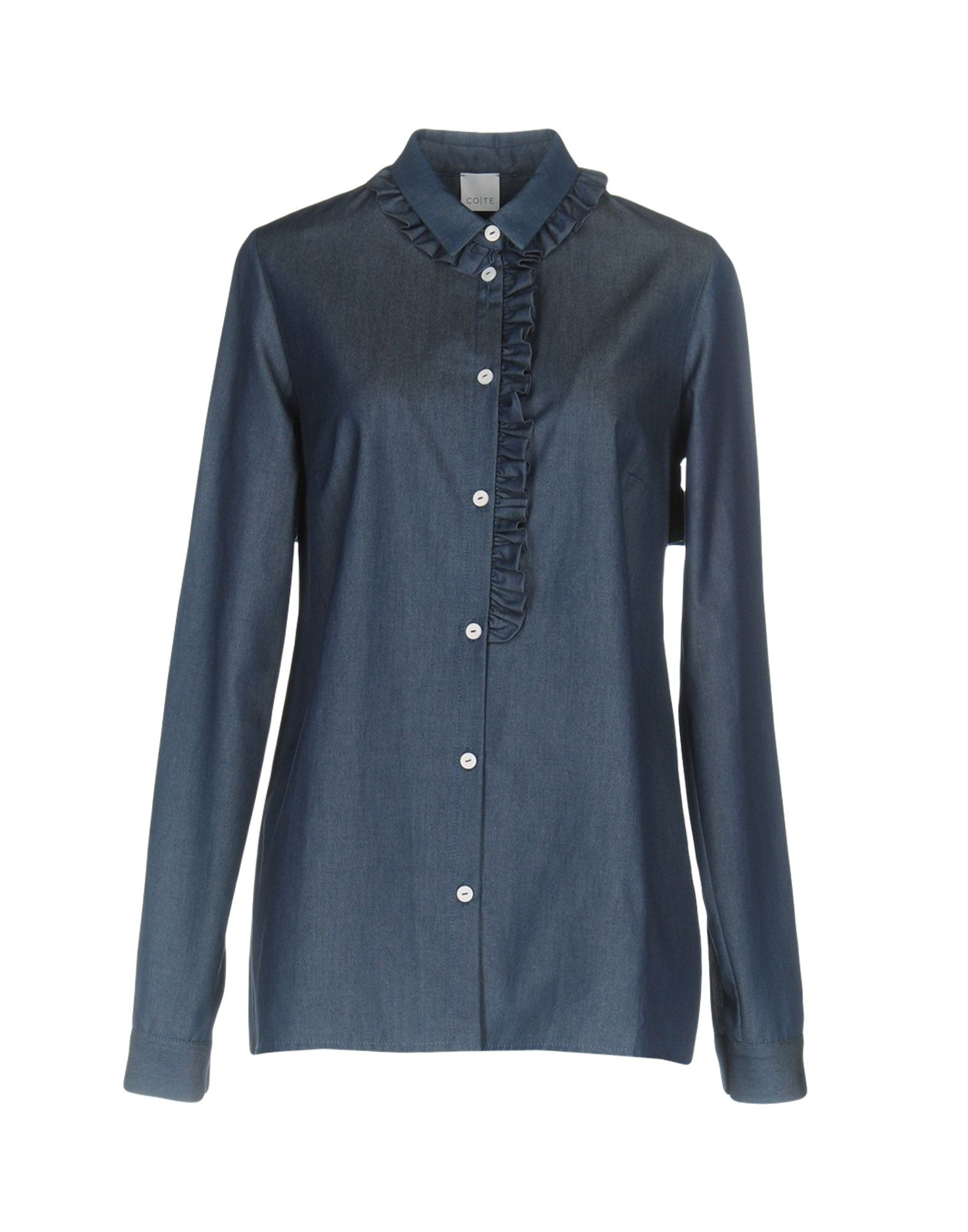 CO|TE Джинсовая рубашка at p co рубашка джинсовая атипико franciacpb33 0915 синий 42