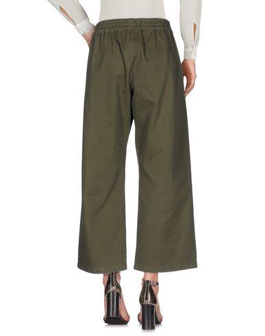 Фото 2 - Повседневные брюки от THE SEAFARER цвет зеленый-милитари