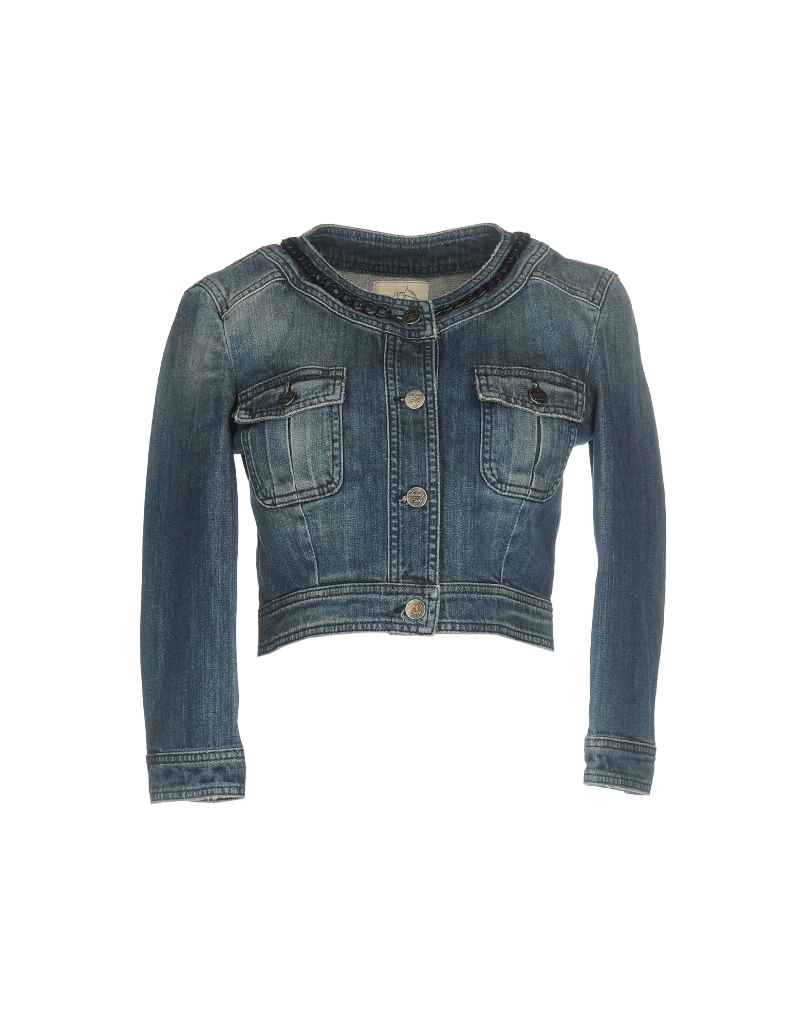 купить TWENTY EASY by KAOS Джинсовая верхняя одежда по цене 8250 рублей