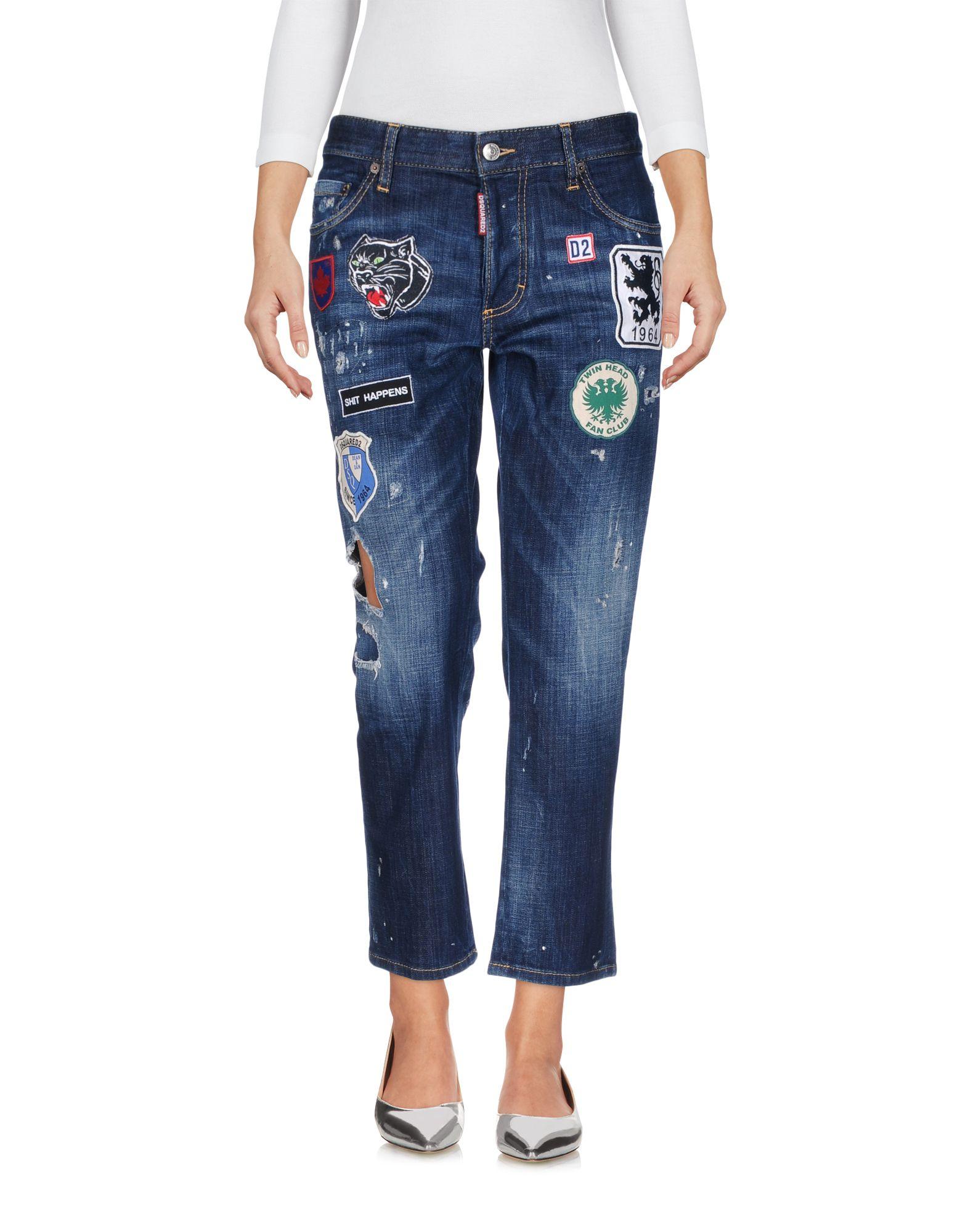 ФОТО dsquared2 Джинсовые брюки