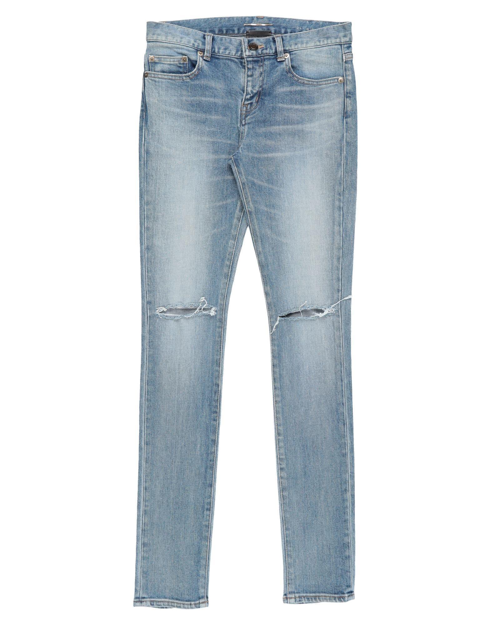 SAINT LAURENT Джинсовые брюки