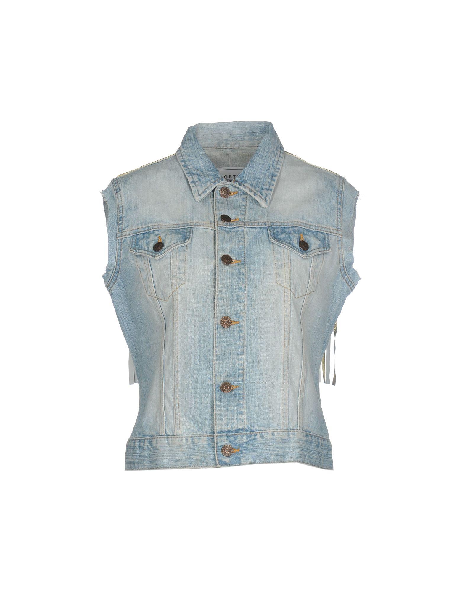 FORTE COUTURE Джинсовая верхняя одежда bencivenga couture джинсовая верхняя одежда