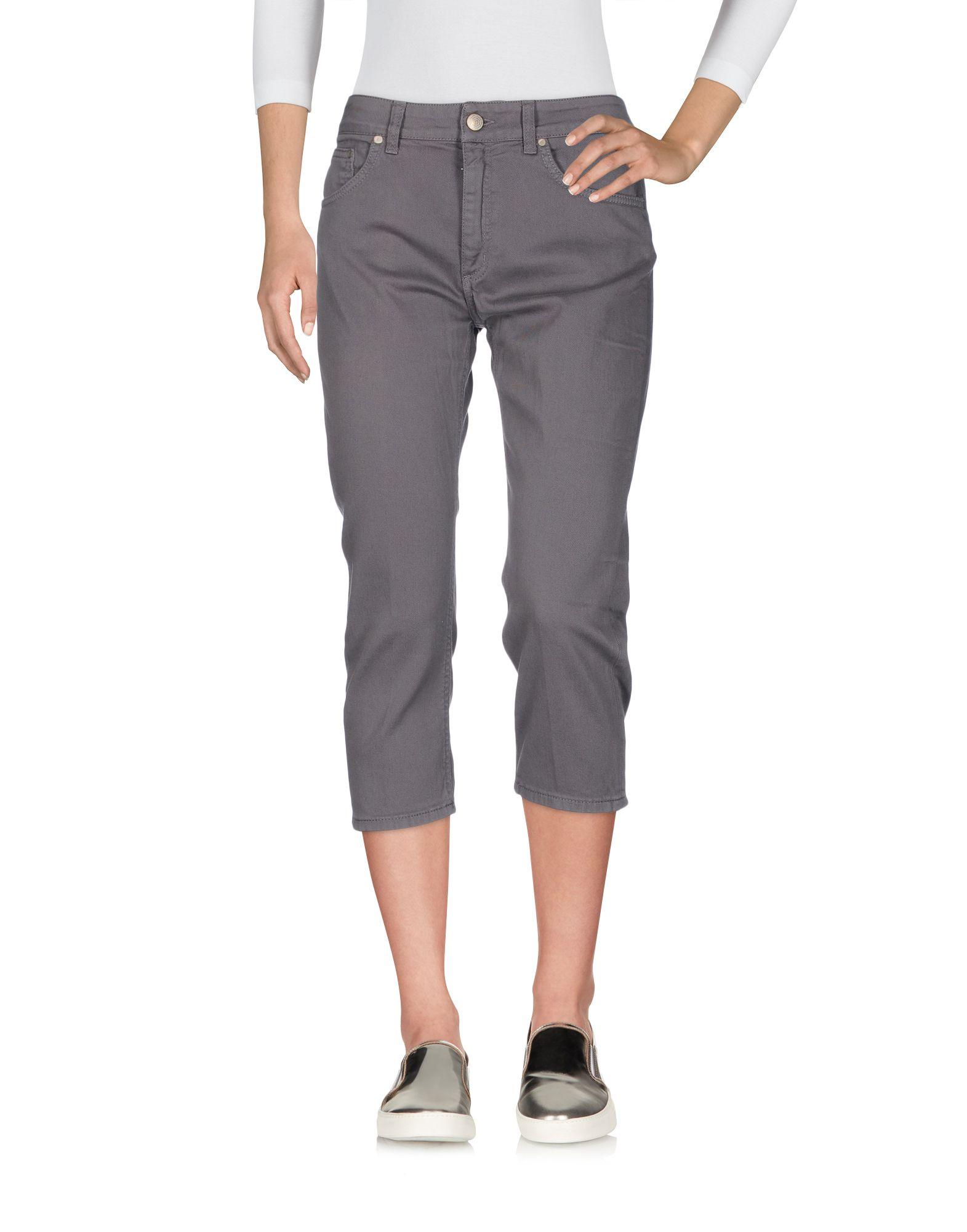 цена DONDUP Джинсовые брюки-капри онлайн в 2017 году