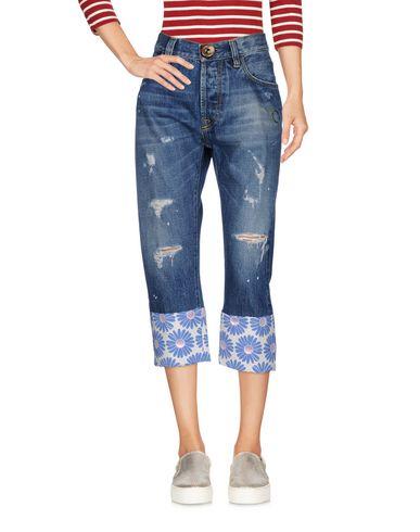Джинсовые брюки-капри от MAURIZIO MASSIMINO