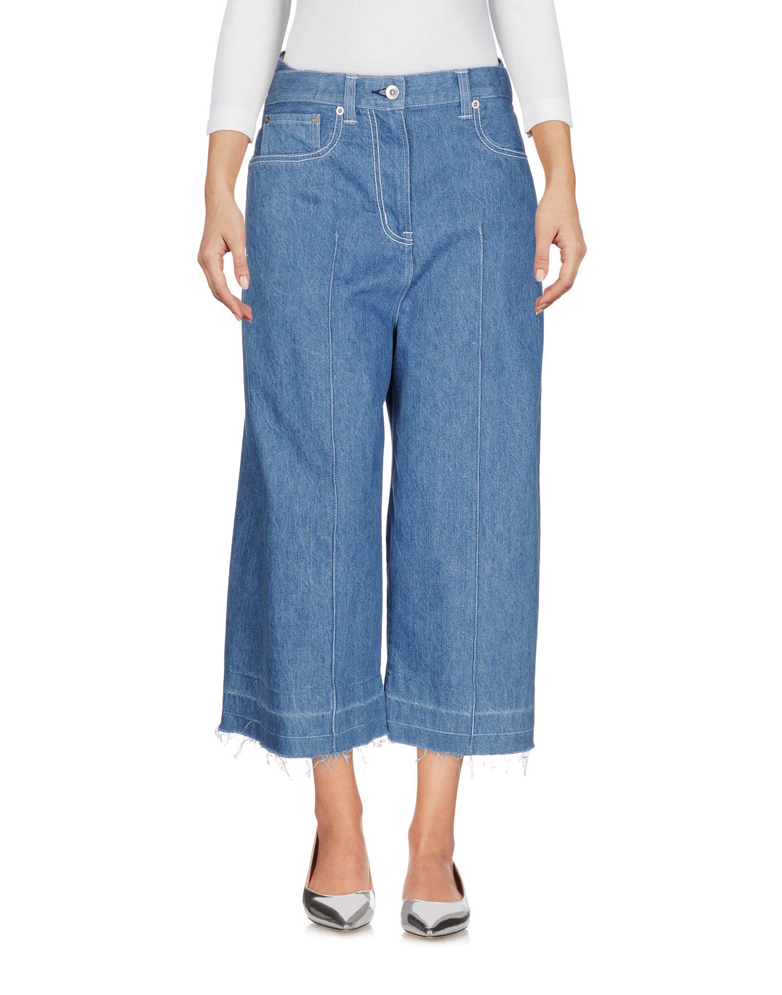 купить SACAI Джинсовые брюки по цене 26100 рублей