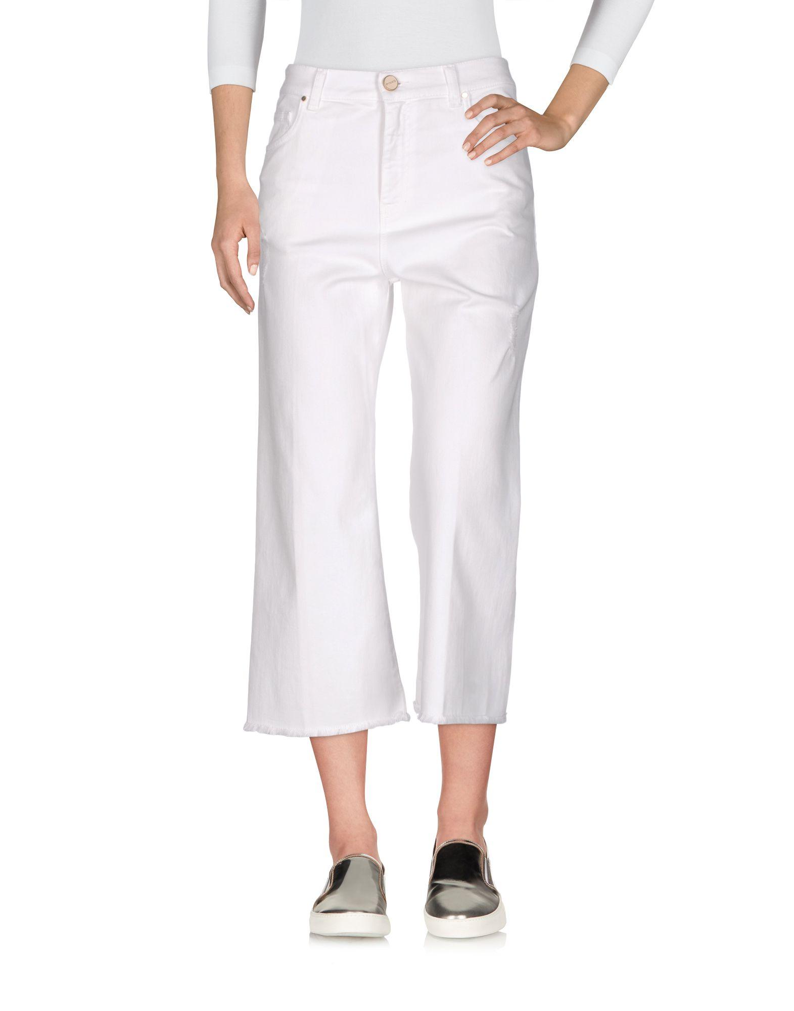 PINKO Джинсовые брюки-капри pinko джинсовые брюки капри