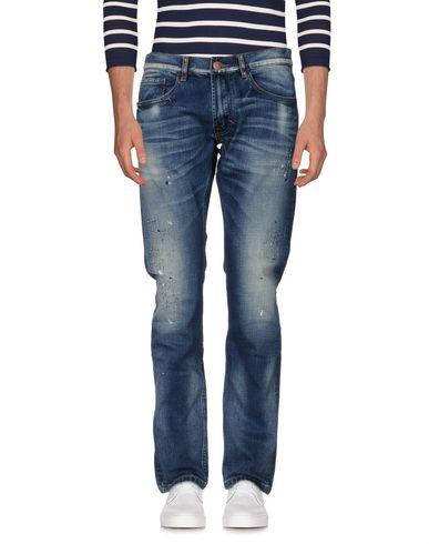 Фото - Джинсовые брюки от SUN 68 синего цвета