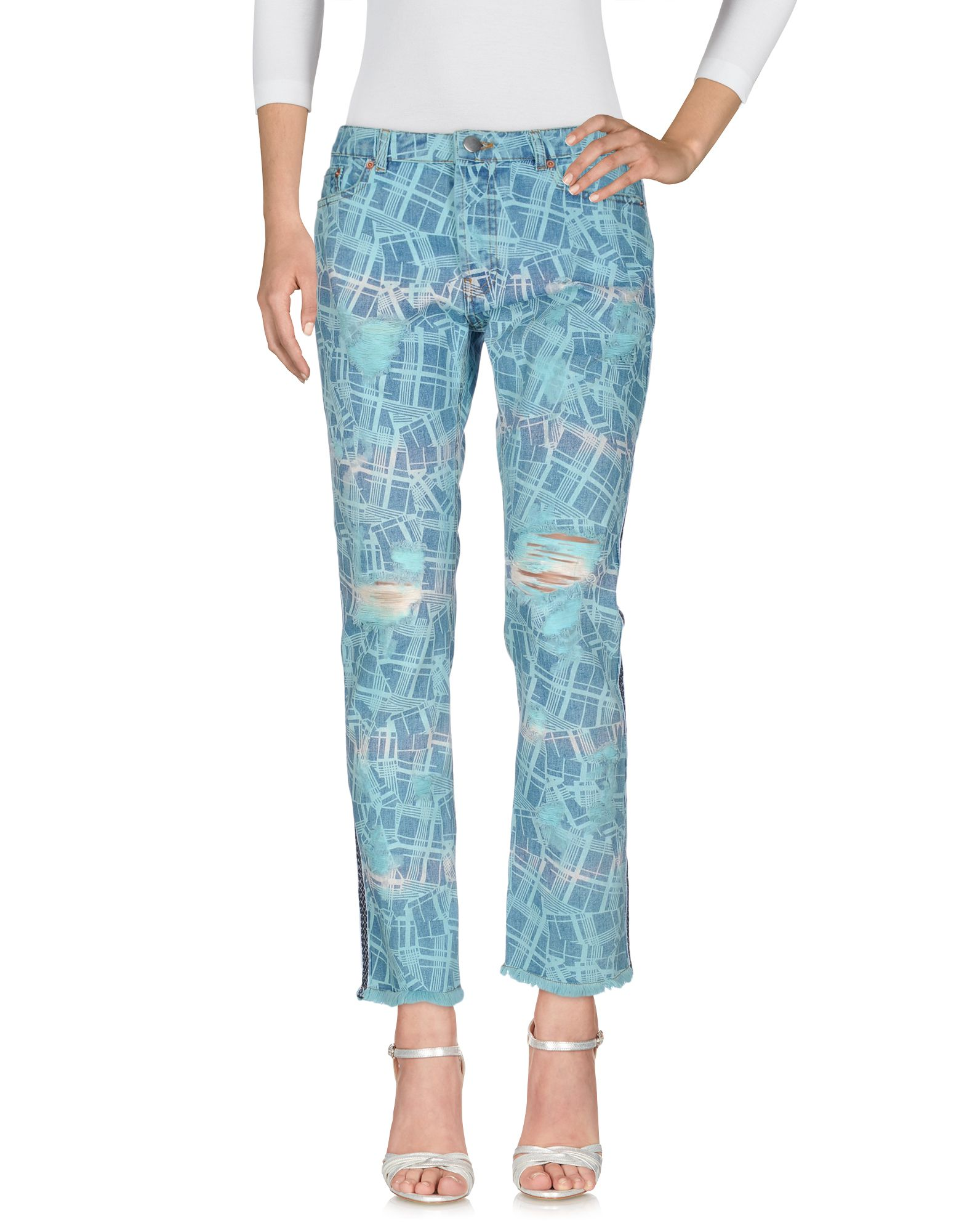 JAMES LONG Denim Pants in Azure