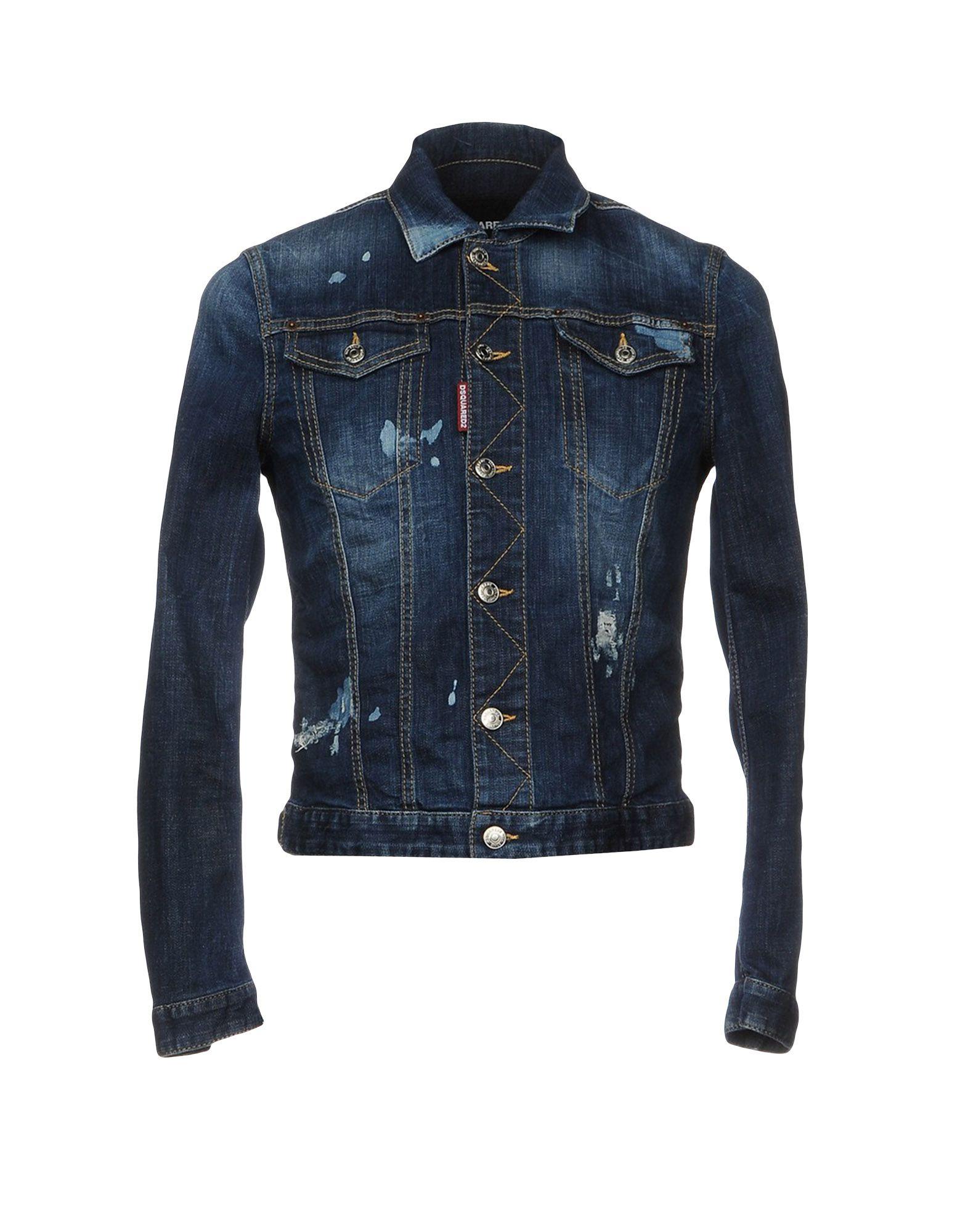 must джинсовая верхняя одежда DSQUARED2 Джинсовая верхняя одежда