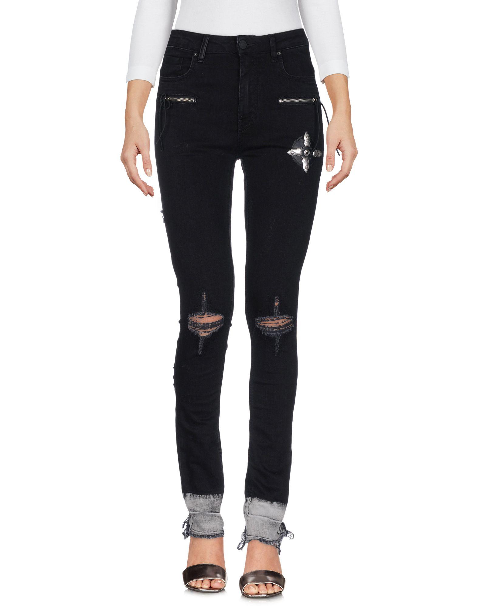 MARCELO BURLON Джинсовые брюки dismero джинсовые брюки