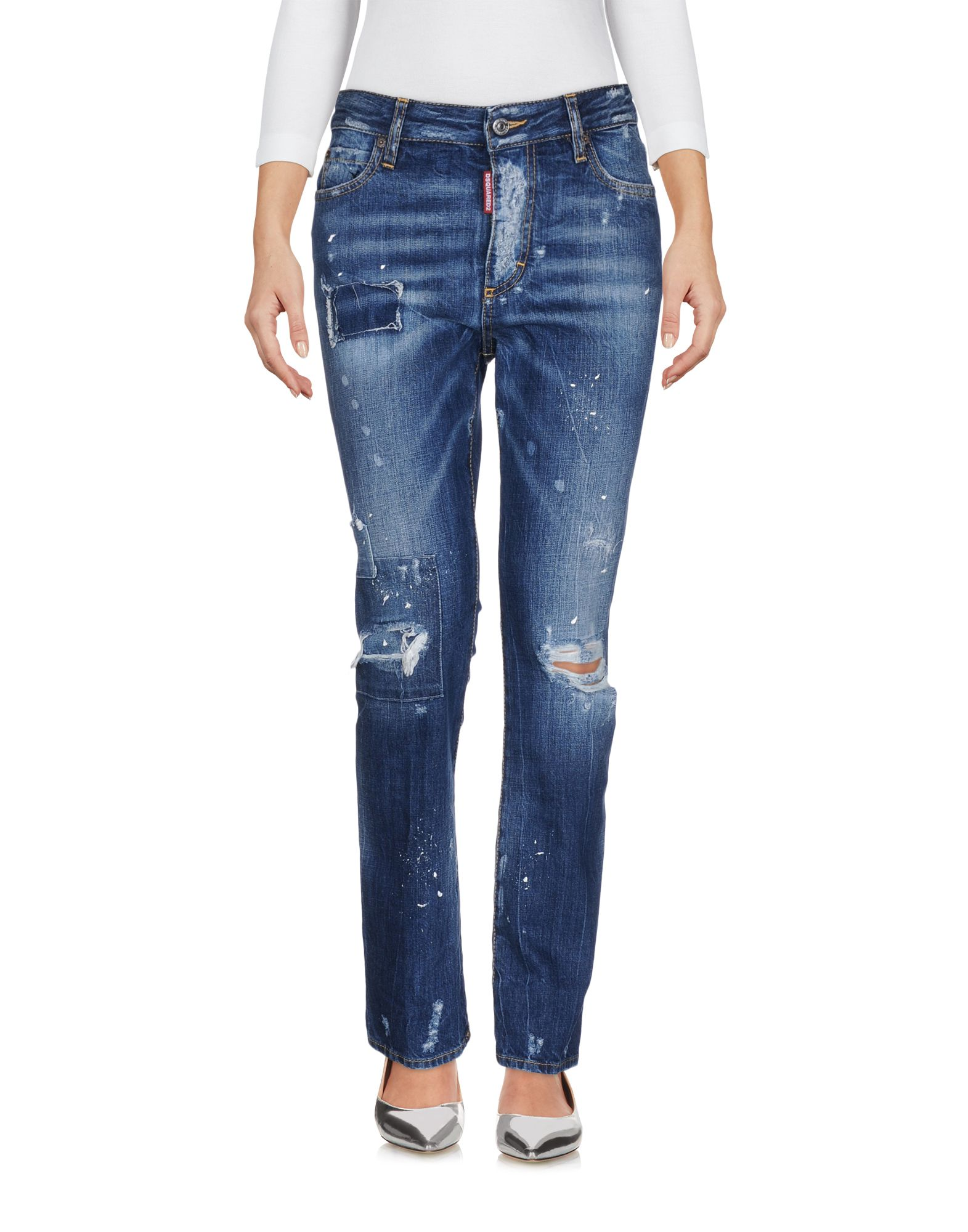 DSQUARED2 Джинсовые брюки dismero джинсовые брюки
