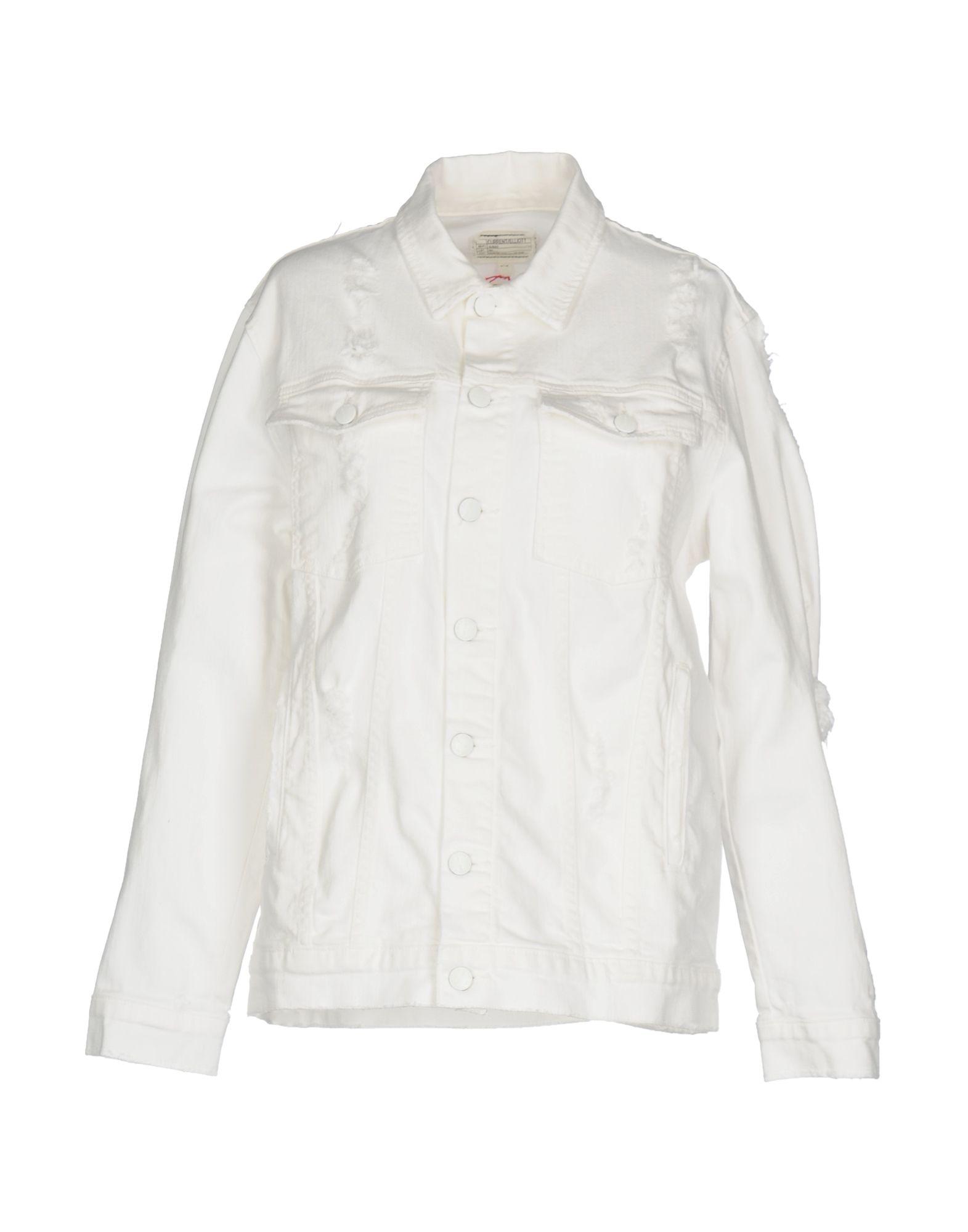 CURRENT/ELLIOTT Джинсовая верхняя одежда верхняя одежда