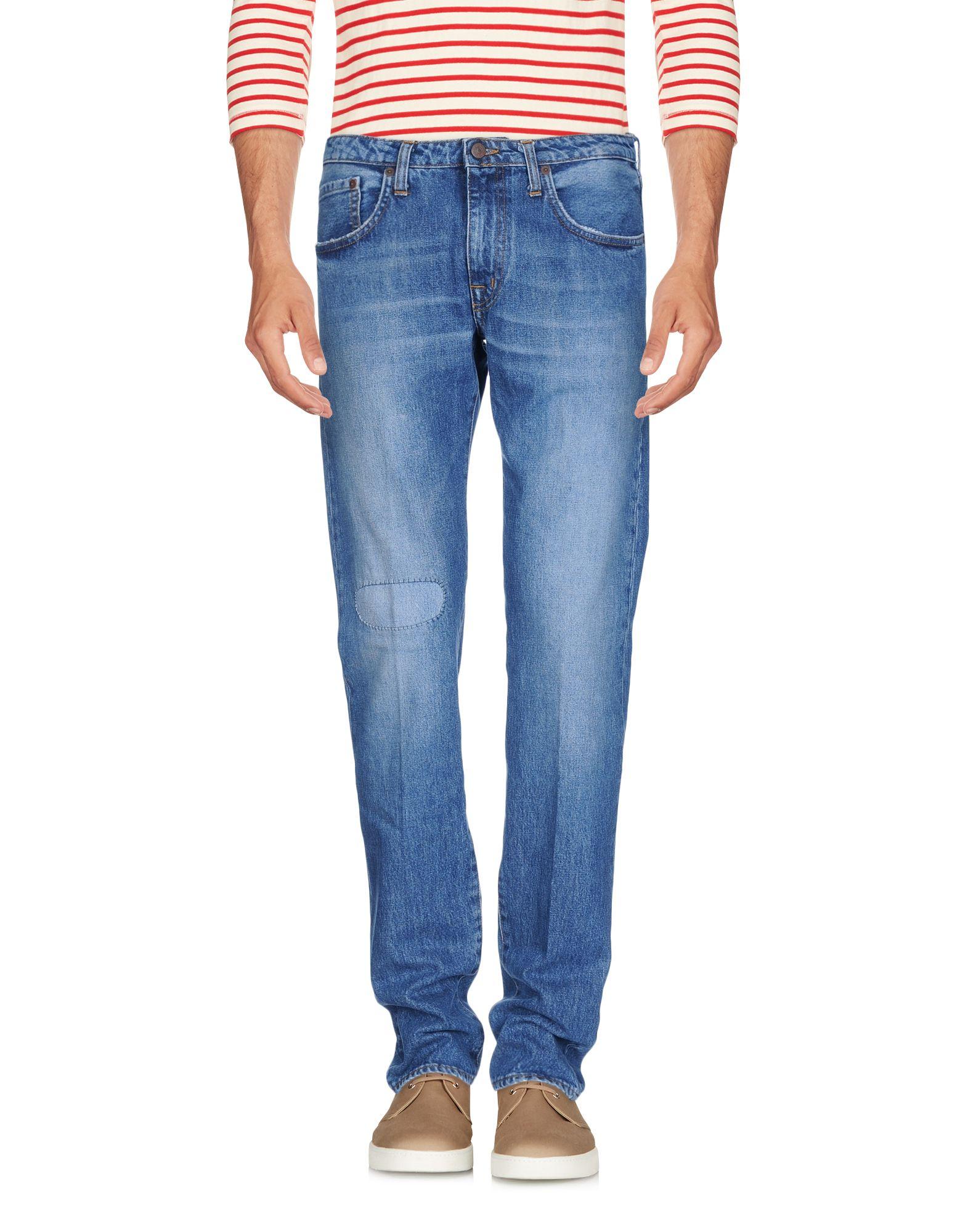 Фотография (+) PEOPLE Джинсовые брюки
