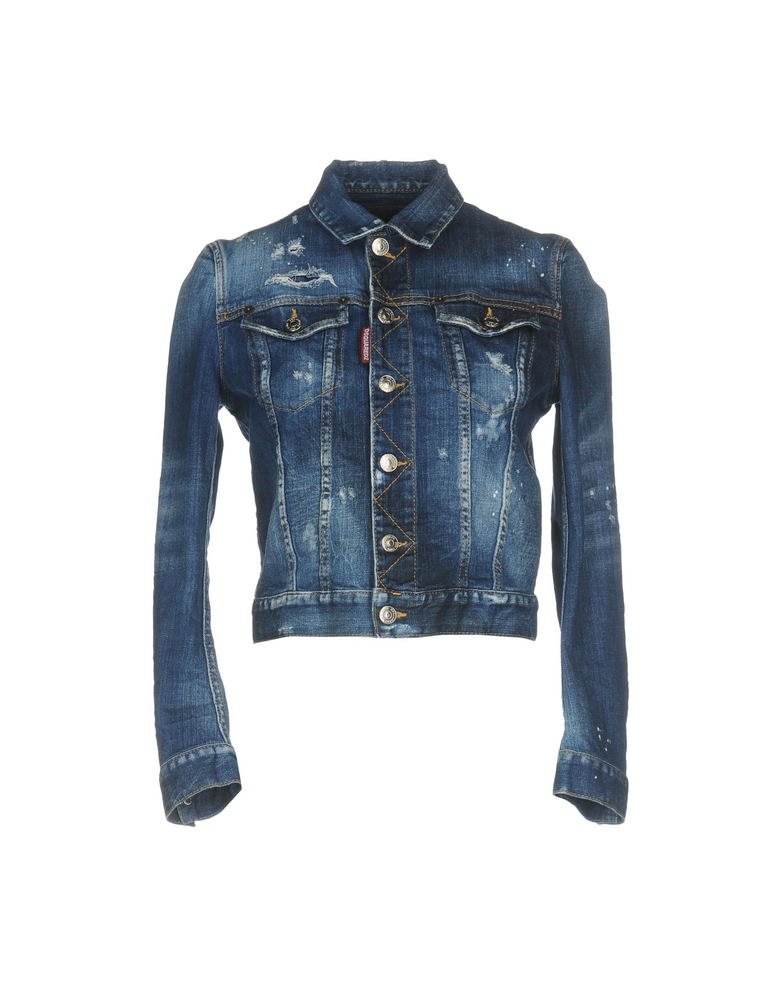 DSQUARED2 Джинсовая верхняя одежда colmar джинсовая верхняя одежда