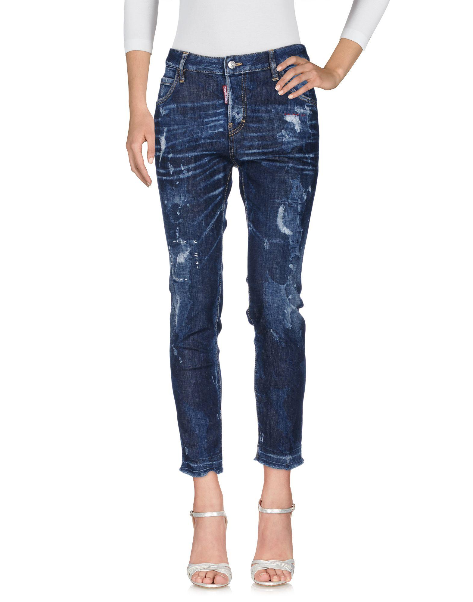 DSQUARED2 Damen Jeanshose3 blau