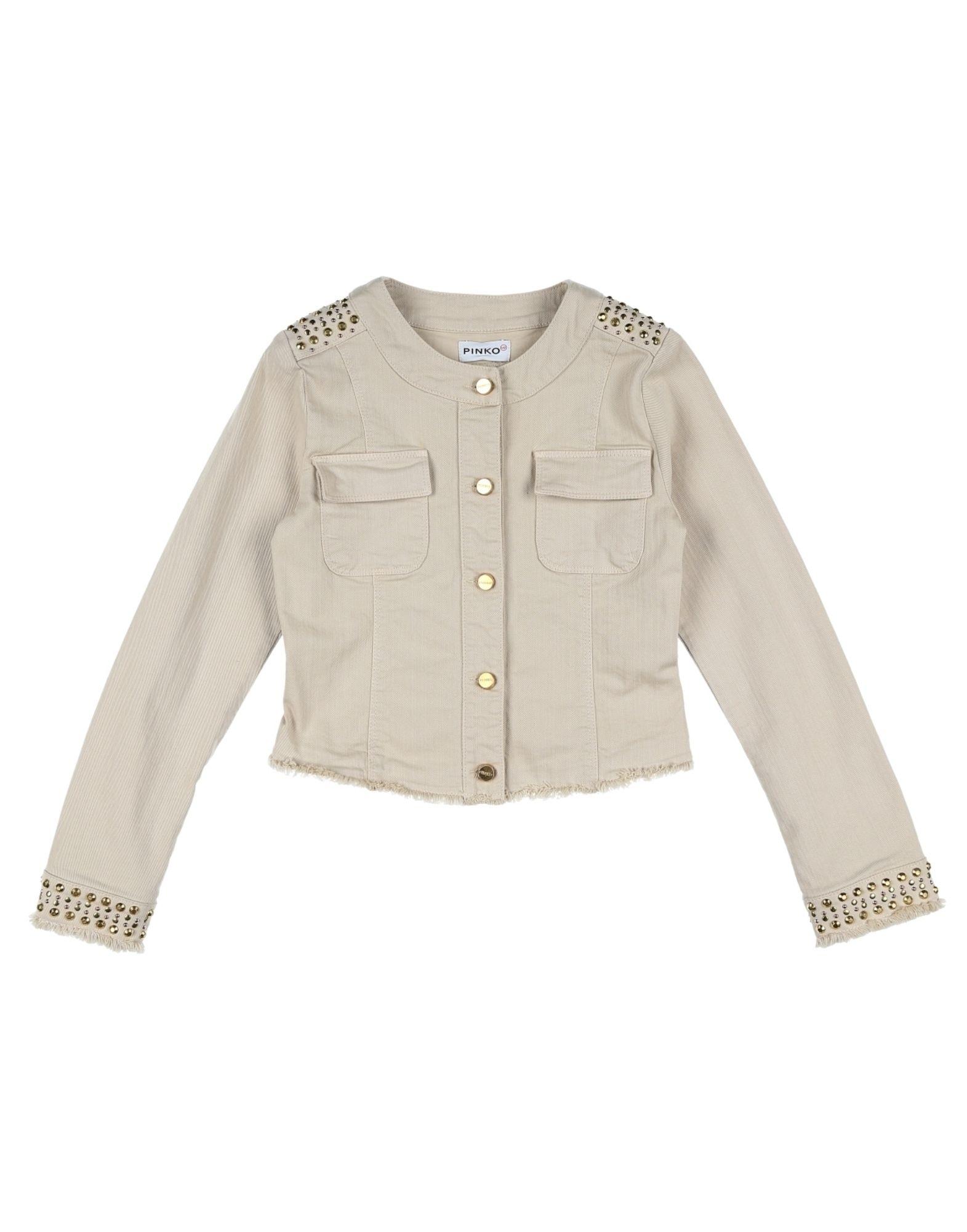 PINKO UP Джинсовая верхняя одежда wood wood джинсовая верхняя одежда