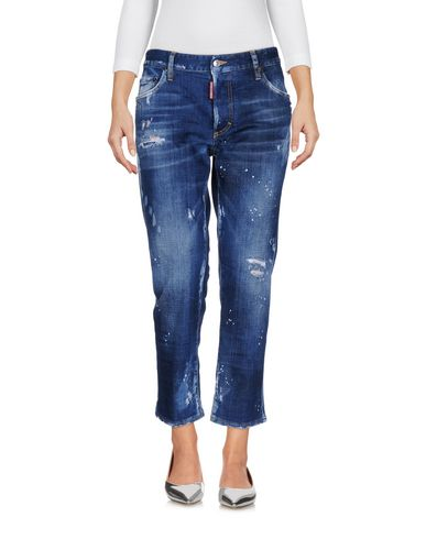 Фото - Джинсовые брюки синего цвета