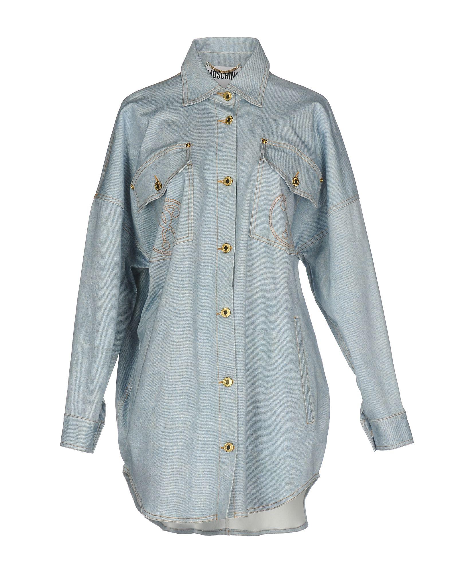 MOSCHINO COUTURE Джинсовая верхняя одежда верхняя одежда