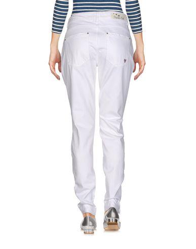 Фото 2 - Джинсовые брюки от TWINSET белого цвета