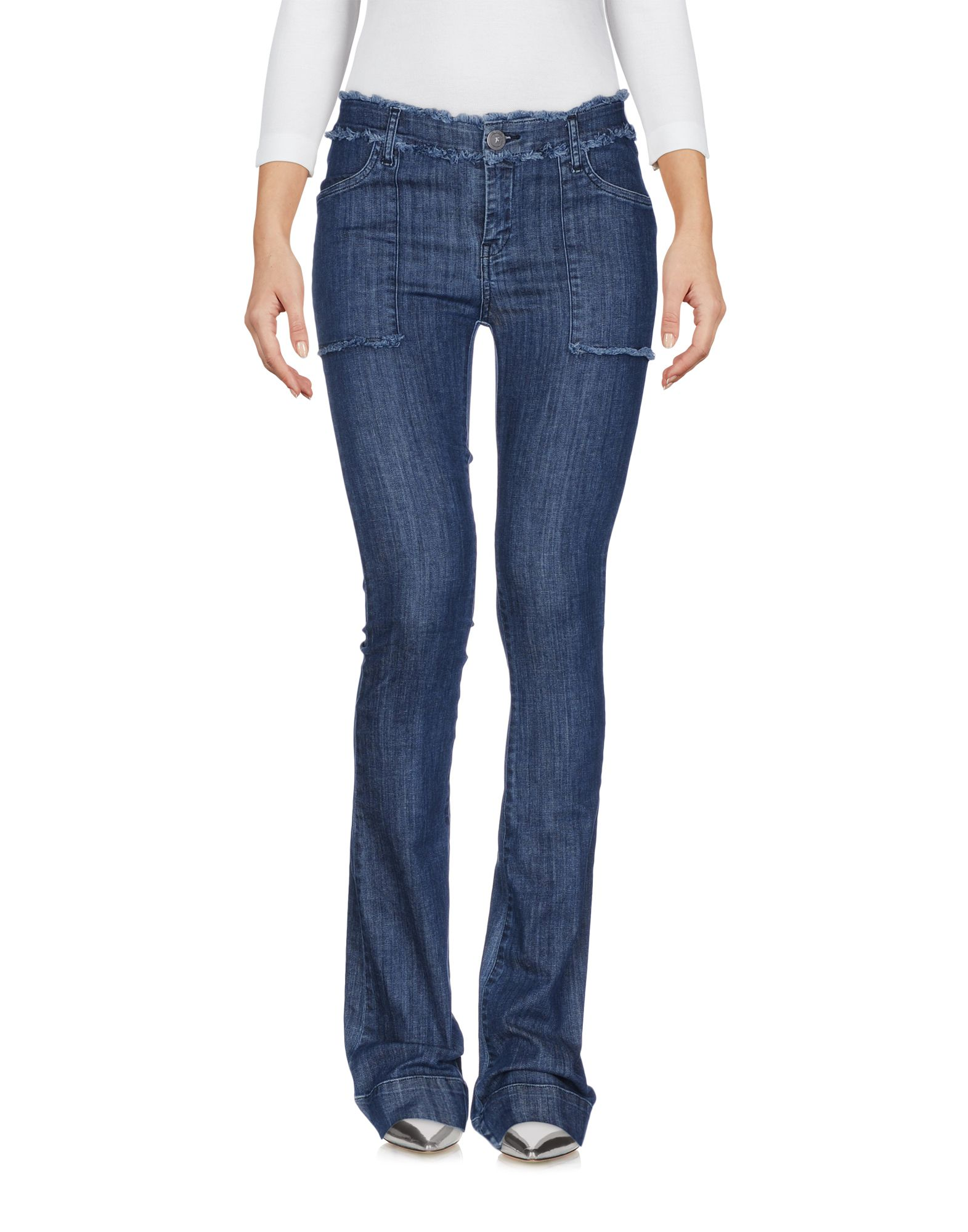 где купить  KRISTINA TI Джинсовые брюки  по лучшей цене