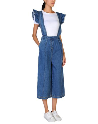 Фото - Джинсовые брюки от WEILI ZHENG синего цвета